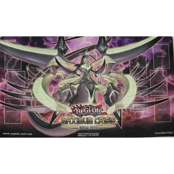Maximum Crisis Sneak Peek Playmat - Oberster König Z-ARC
