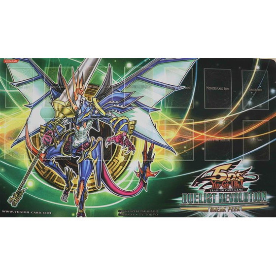 Duelist Revolution Sneak Peek Playmat - Draco-Equitaner,...