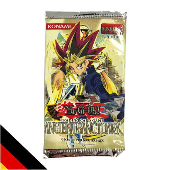 Ancient Sanctuary Booster 1. Auflage Deutsch - RARITÄT!
