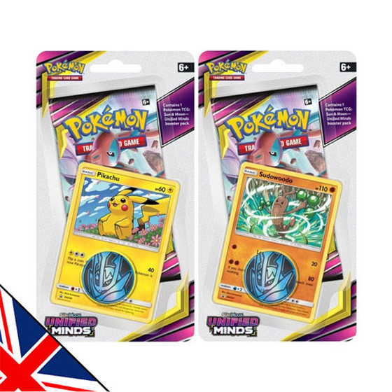 Sun & Moon: Unified Minds 1-Pack + Promo Blister (Englisch)
