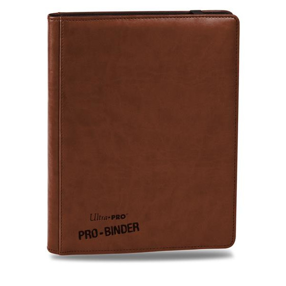 Ultra Pro - Premium Pro Binder Brown (9-Pocket)