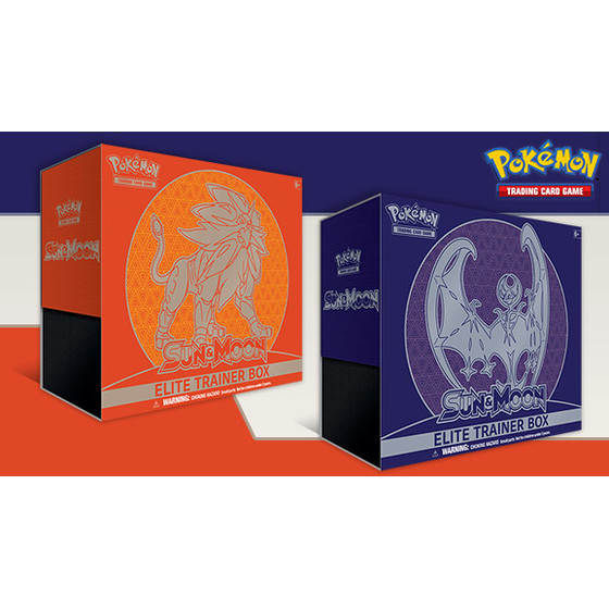 Sun & Moon Elite Trainer Box