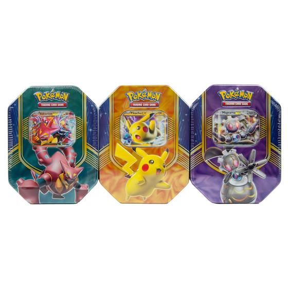 Battle Heart Fall Tin 2016 Volcanion - Englisch
