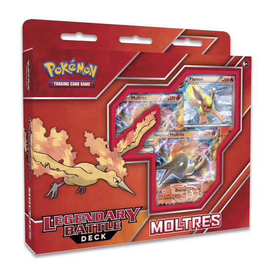 Legendary Battle Decks - Moltres (Englisch)