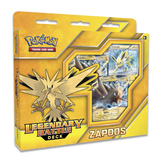 Legendary Battle Decks - Zapdos (Englisch)