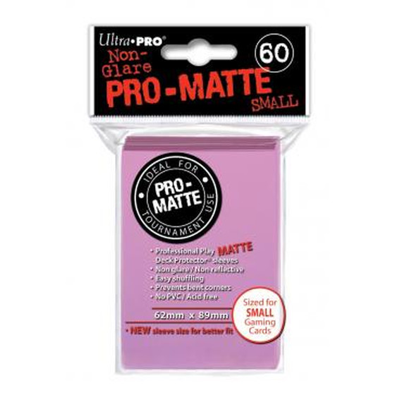 Ultra Pro Pro Matte Small Pink - 60 Sleeves
