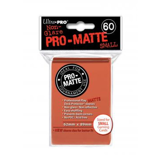Ultra Pro Pro Matte Small Peach - 60 Sleeves