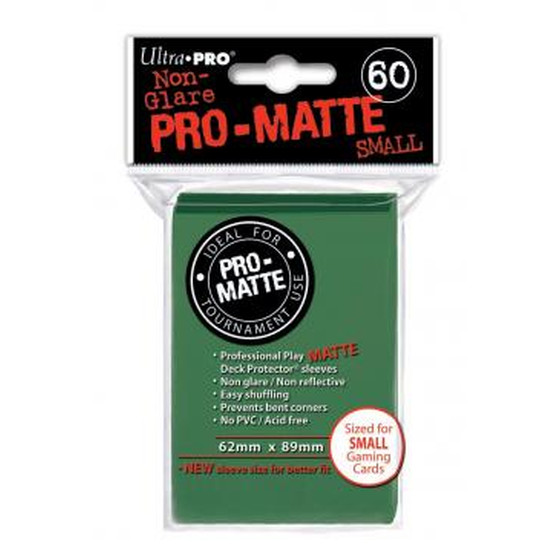 Ultra Pro Pro Matte Small Green - 60 Sleeves
