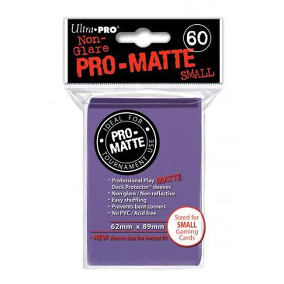 Ultra Pro Pro Matte Small Purple - 60 Sleeves