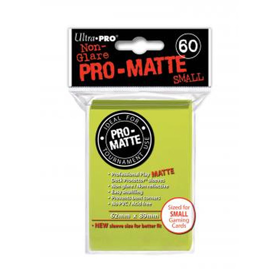 Ultra Pro Pro Matte Small Bright Yellow - 60 Sleeves