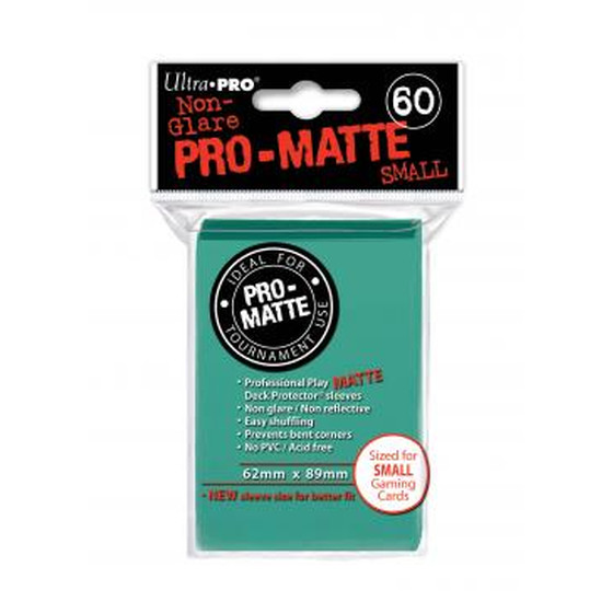 Ultra Pro Pro Matte Small Aqua - 60 Sleeves