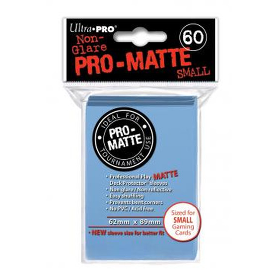 Ultra Pro Pro Matte Small Light Blue - 60 Sleeves