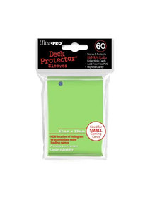 Ultra Pro Deck Protector Small Lime Green - 60 Sleeves