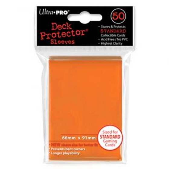 Ultra Pro Deck Protector Orange - 50 Sleeves