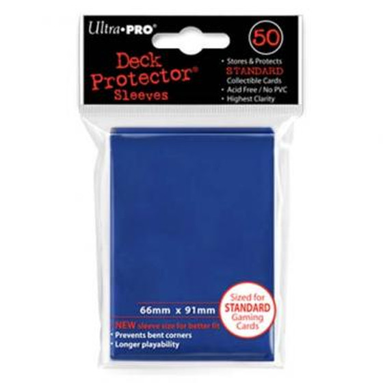 Ultra Pro Deck Protector Blue - 50 Sleeves