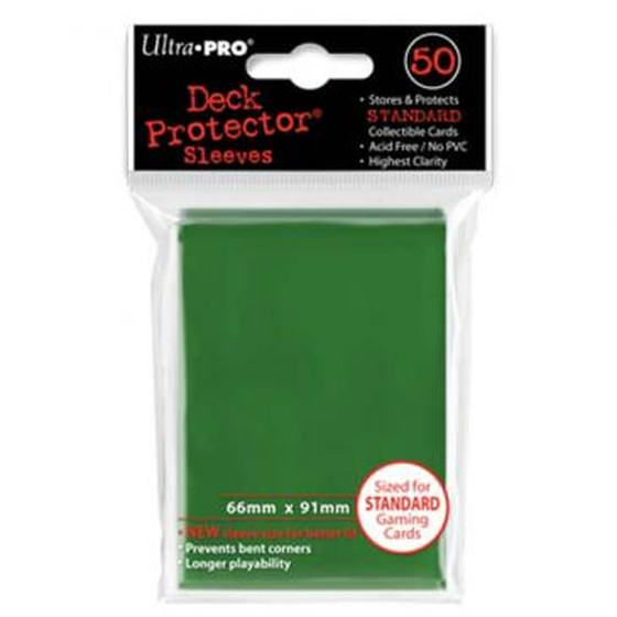 Ultra Pro Deck Protector Green - 50 Sleeves