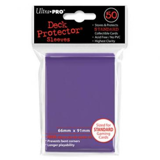 Ultra Pro Deck Protector Purple - 50 Sleeves