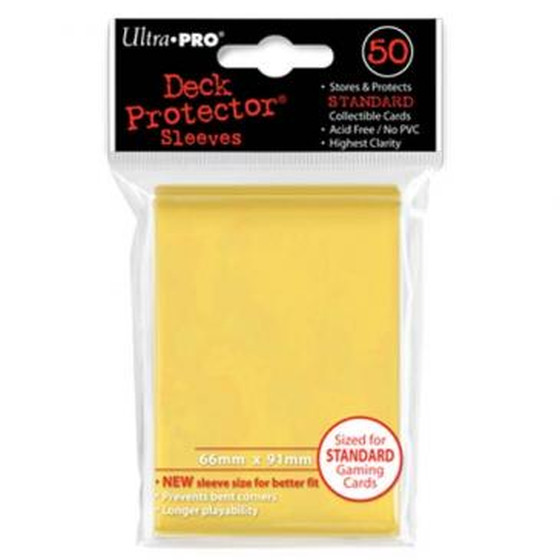 Ultra Pro Deck Protector Yellow - 50 Sleeves