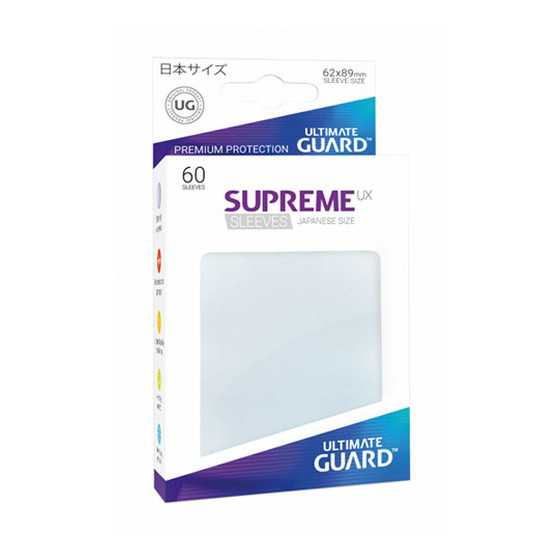 Ultimate Guard Supreme Sleeves Small UX Frosted - 60 Sleeves