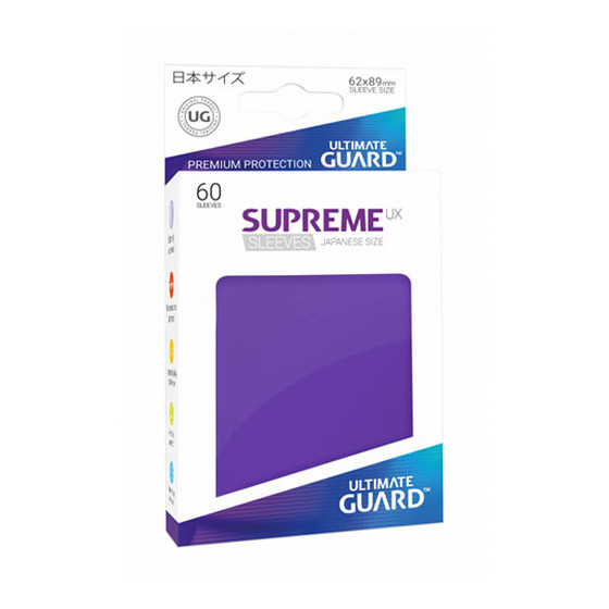 Ultimate Guard Supreme Sleeves Small UX Purple - 60 Sleeves