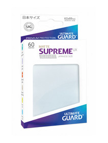 Ultimate Guard Supreme Sleeves Small UX Matte Frosted - 60 Sleeves