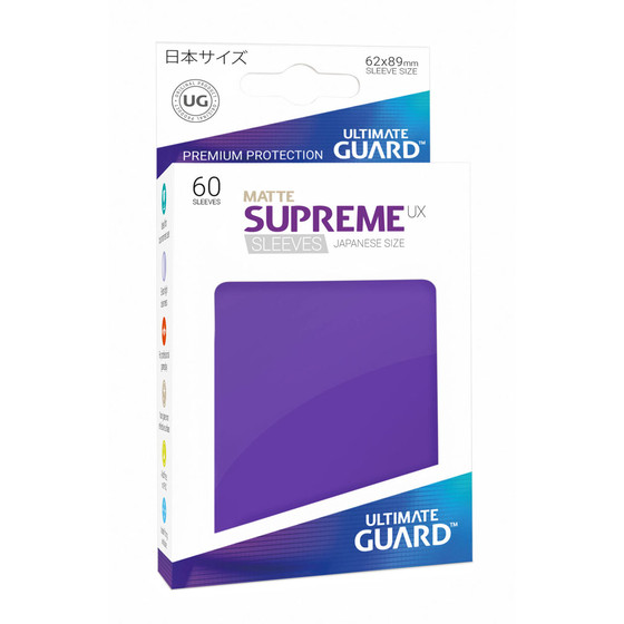 Ultimate Guard Supreme Sleeves Small UX Matte Purple - 60...