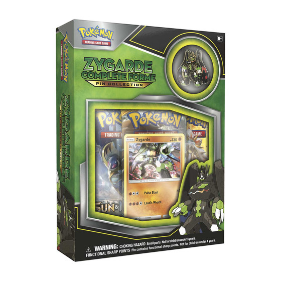 Zygarde Complete Pin Collection (Englisch)