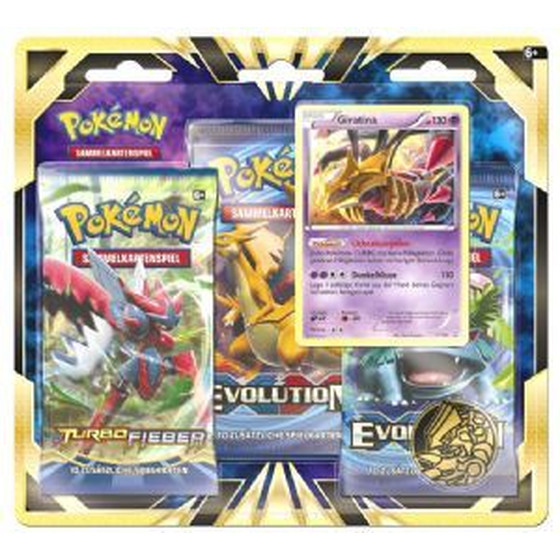 Giratina 3-Pack Blister (Deutsch)