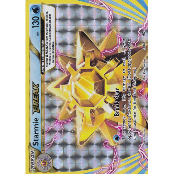 Starmie BREAK - 32/108 - Break