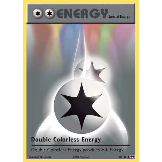 Double Colorless Energy - 90/108 - Uncommon