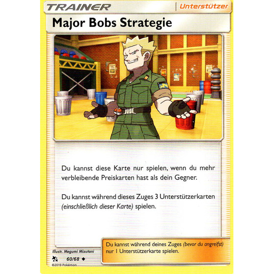 Major Bobs Strategie - 60/68 - Uncommon