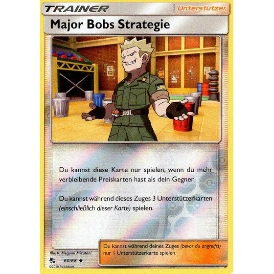 Major Bobs Strategie - 60/68 - Reverse Holo