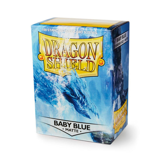 Dragon Shield Matte Baby Blue - 100 Sleeves