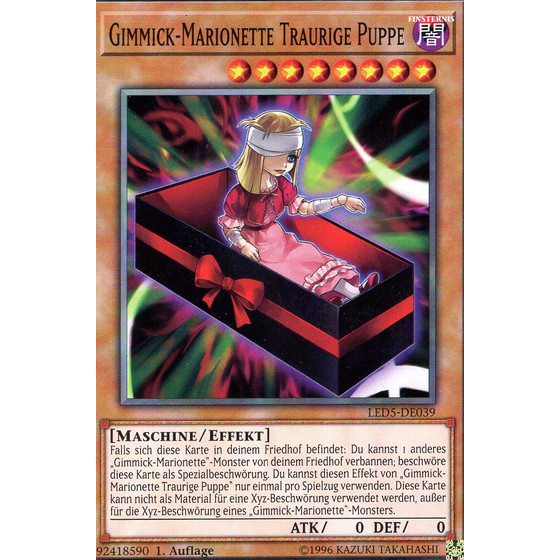 Gimmick-Marionette Traurige Puppe - LED5-DE039 - Common