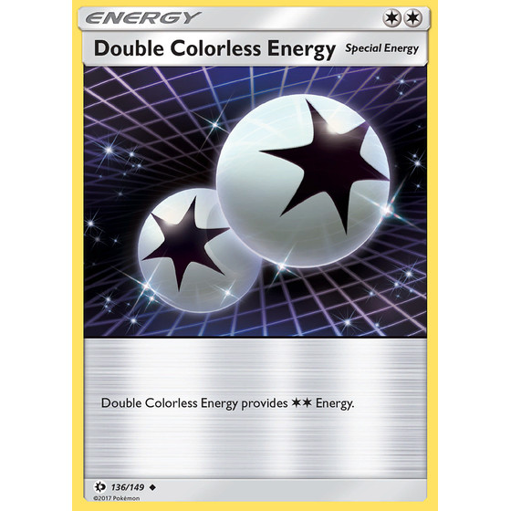 Double Colorless Energy - 136/149 - Uncommon
