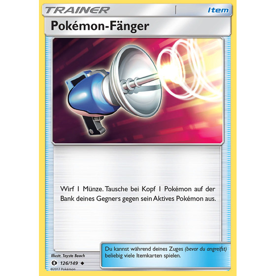 Pokemon-Fänger - 126/149 - Uncommon