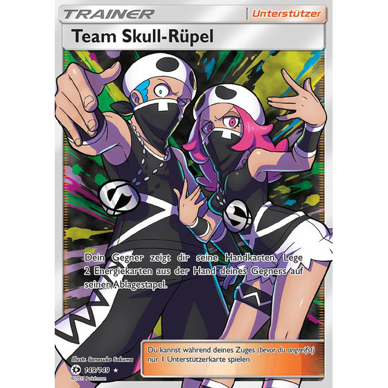 Team Skull Rüpel - 149/149 - Fullart