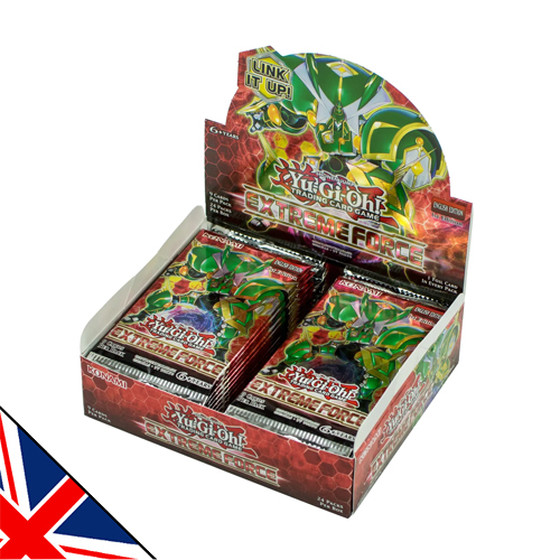 Extreme Force Display (24 Booster) Englisch