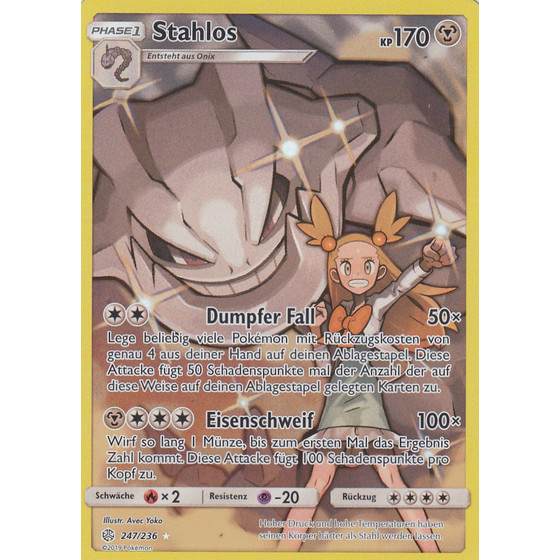 Stahlos - 247/236 - Secret Rare