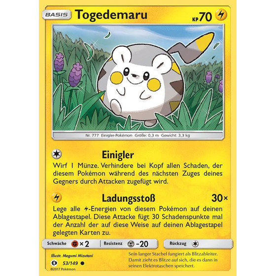 Togedemaru - 53/149 - Reverse Holo