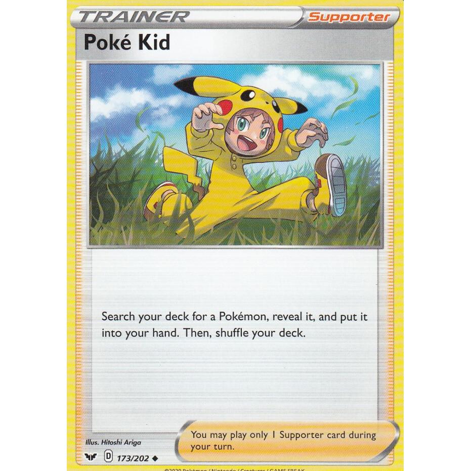 Poké child-eb01 French designer card pokemon sword and shield 173//202