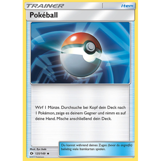 Pokeball - 125/149 - Reverse Holo