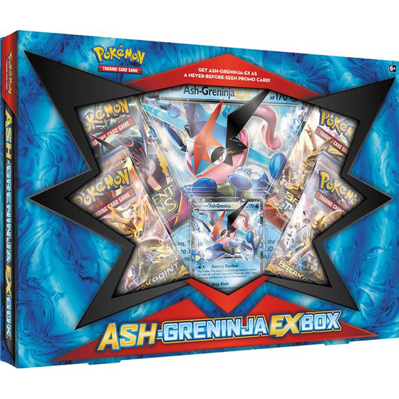 Ash-Greninja EX Box (English)