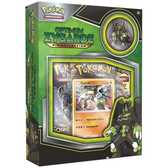 Optimum Zygarde Pin-Kollektion