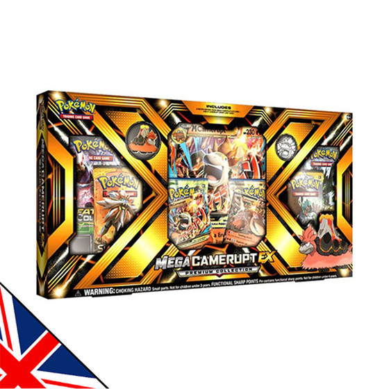 Mega Camerupt EX Premium Collection Box