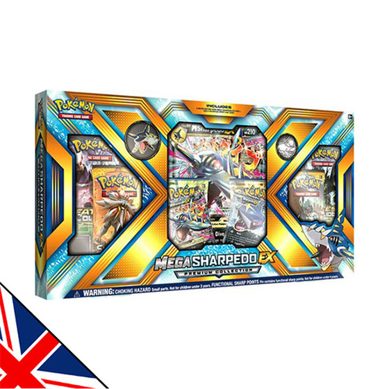 Mega Sharpedo EX Premium Collection Box