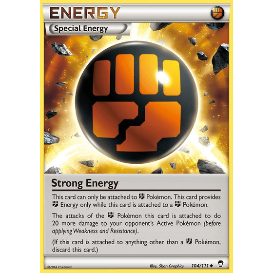 Strong Energy - 104/111 - Reverse Holo