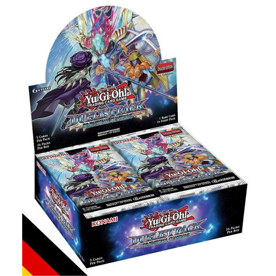 Duelist Pack: Dimensional Guardians Display (36 Booster)...