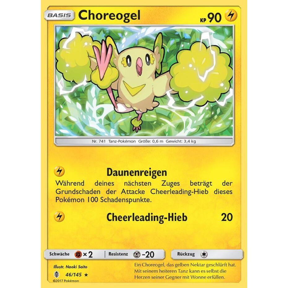 Reverse Holo Pokemon 71/145 Welsar Stunde der Wächter