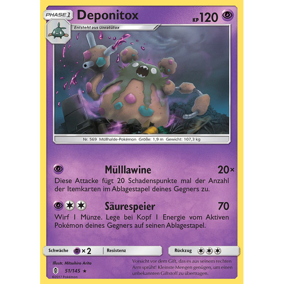 Deponitox - 51/145 - Reverse Holo